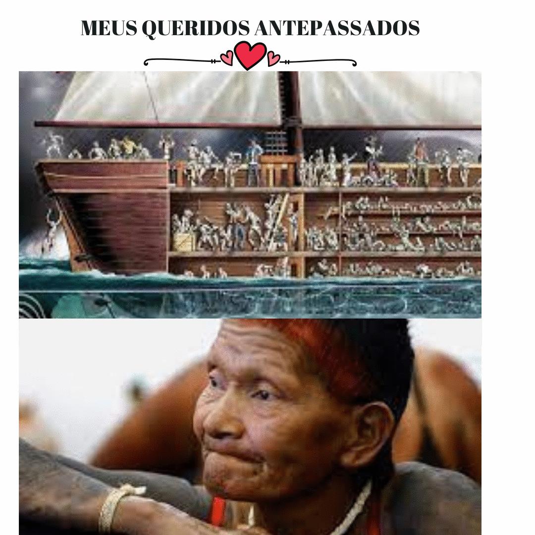 MEUS AMADOS ANTEPASSADOS!