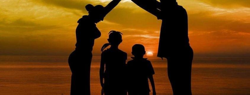 Relações conjugais e relacionamentos entre pais e filhos