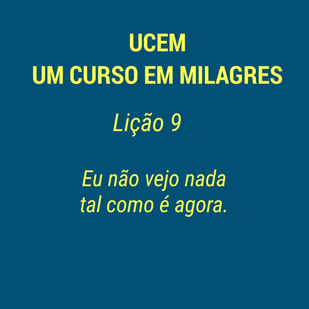 UCEM - LIÇÃO 9