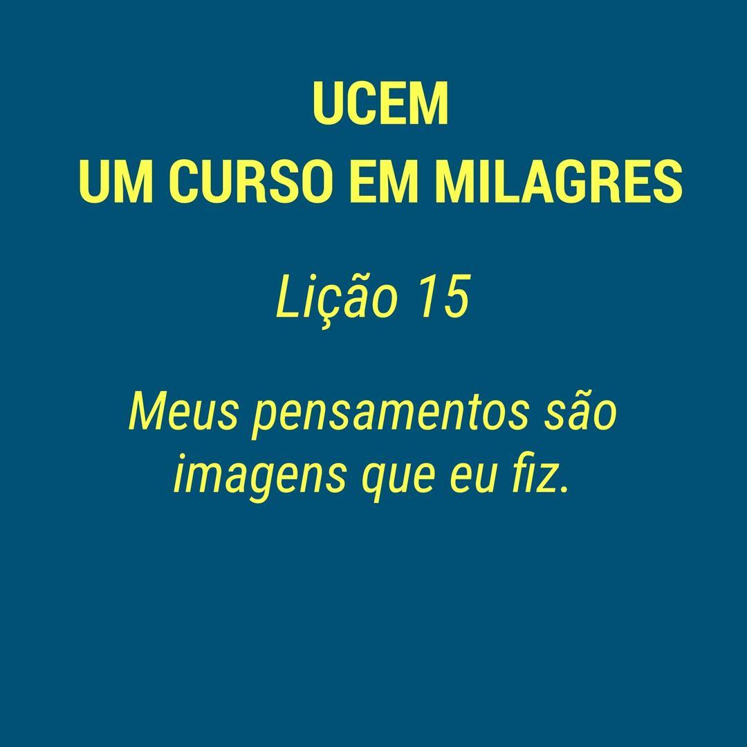 UCEM - LIÇÃO 15
