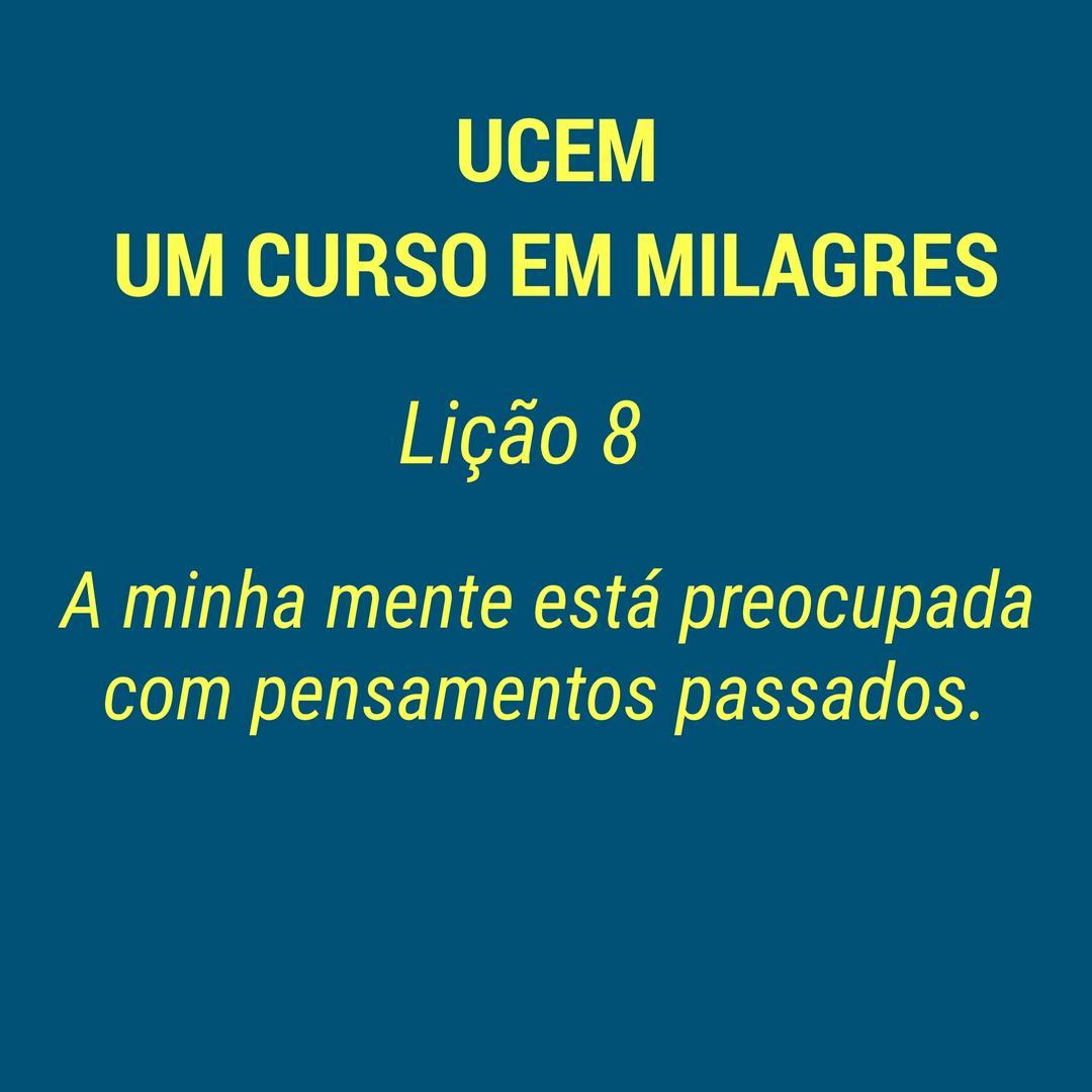 UCEM - LIÇÃO 8