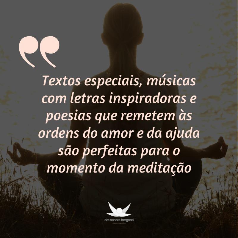 Re-leitura do exercício da meditação pelo olhar de Bert Hellinger