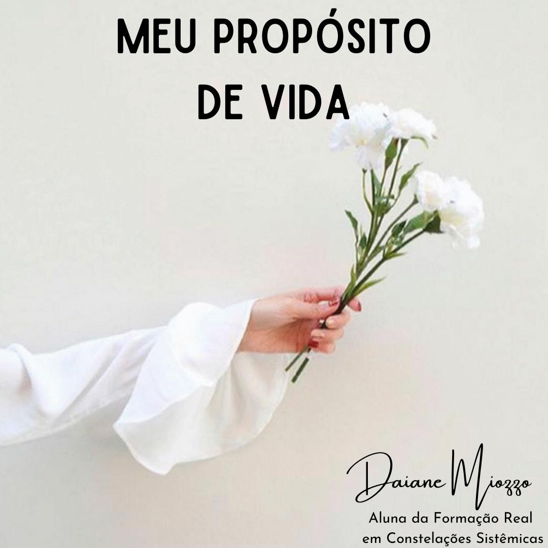 MEU PROPÓSITO DE VIDA