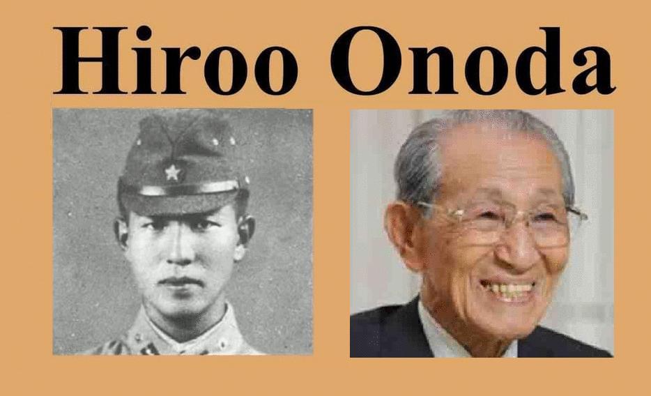 Hiroo Onoda, a paz, você, eu e o mundo todo!