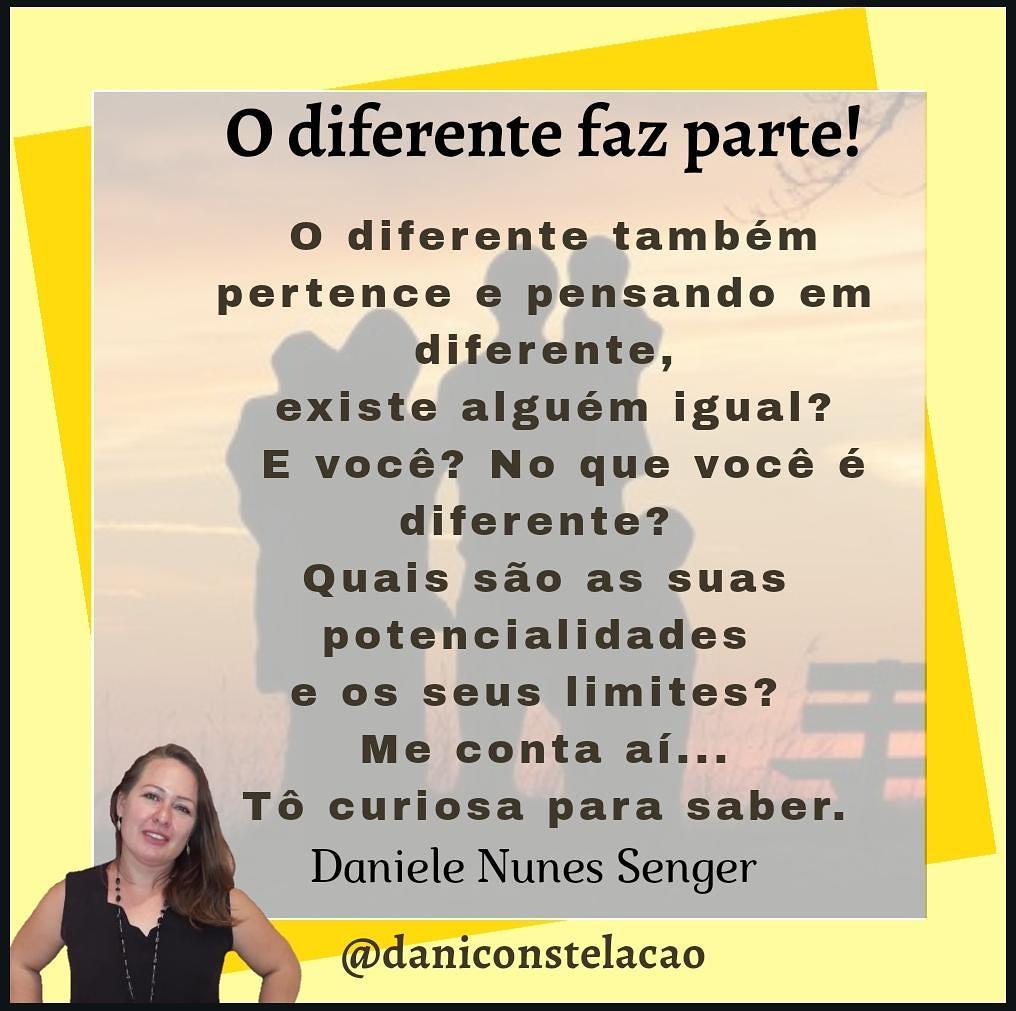 O diferente faz parte