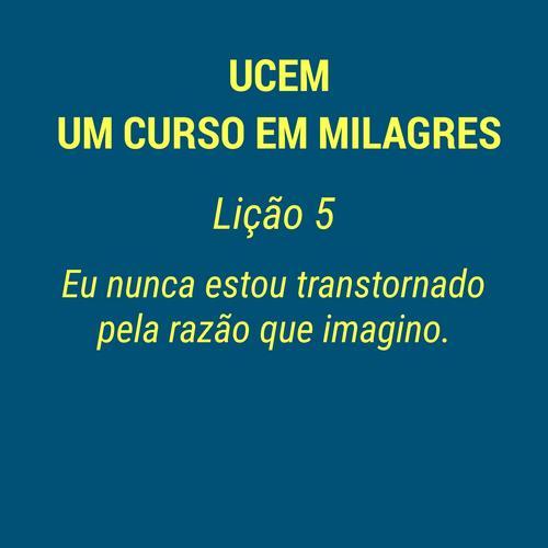 UCEM - LIÇÃO 5