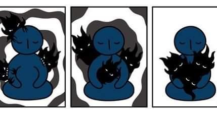 As mordidinhas da escuridãozinha interna