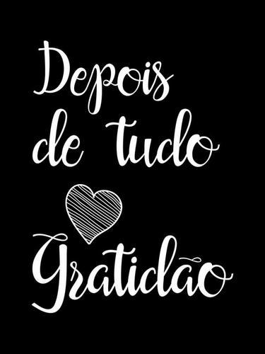 SOMENTE GRATIDÃO!