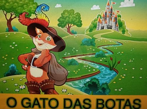 CONTOS DE FADAS/HISTÓRIAS INFANTIS:  O GATO DE BOTAS