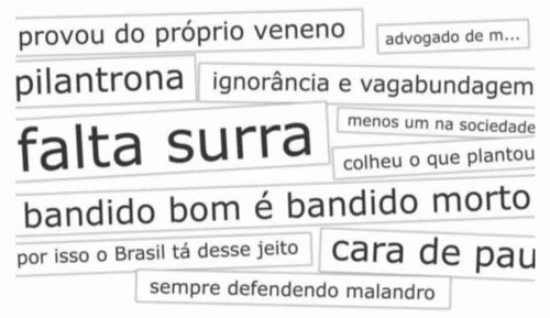 DISCURSO DE ÓDIO: A VIOLÊNCIA DE UMA EXPRESSÃO LINGUÍSTICA