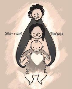 Estado fusional mãe-bebê