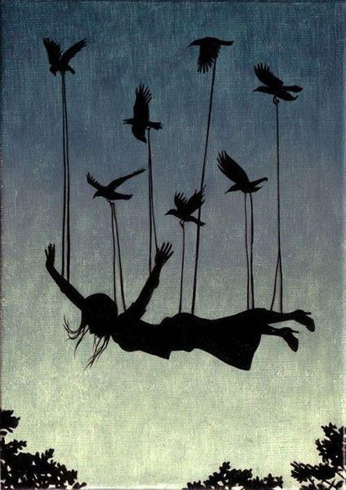 Permita-se voar - você só perderá suas correntes!